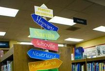 Library displays and bulletin boards