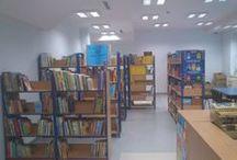 Moja biblioteka / miejsce mojej pracy i ciekawych pomysłów