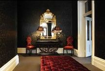 Grand Guignol / Dramatic interiors, designed to thrill....