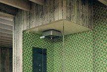 Let It Rain / Luxury shower and bathroom interior