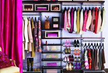 In the closet!