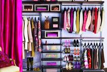 Dressing Down  / Ideal interior dressing rooms glam or functional- every woman wants one!