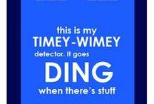 EXTERMINATE / All the wibbeli wobbeli timey wimey stuff