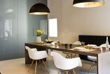 Lamp & Table & Chair