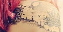 look - tattoos