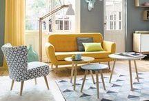 Idées Décoration Salon / Découvrez de nombreux idées et inspirations pour décorer votre salon et votre salle à manger.