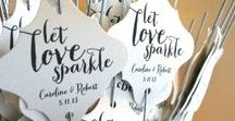 Treats for Guests / Fun ways to make your wedding even more exciting for you and your guests.