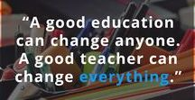 Inspirational Quotes - Education & Learning / Inspirational and motivational quotes about learning and education.