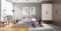 Décoration chambre adulte / Découvrez de nombreuses inspirations pour décorer et aménager une chambre d'adulte.