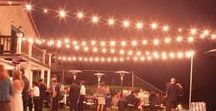 Lighting for Events / Well placed lights can create ambience at your event. Brighten up your event space with lighting!