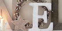 Christmas decoration / christmas decoration, diy home decoration, scandinave decoration, ideas, crafts, white decoration, traditional decoration