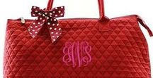 Quilted Bags / Monogrammed Quilted Bags, Monogrammed Diaper Bags, Personalized Tote Bags, Monogrammed Quilted Purses