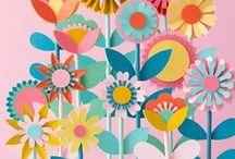 DIY Papierblumen / Lust auf Blumen und Pflanzen aber einen schwarzen Daumen? Kein Problem! Hier findet Ihr die schönsten Ideen und Projekte zum Basteln von Papierblumen, Pflanzen und Kakteen. Aber denkt dran: Diese Pflanzen bitte nicht gießen! :-)