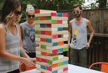 DIY Outdoor Spiele