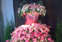 Art Floral/Wearable/Arranged / Wreaths, and Digital Enhanced Flora. / by Gini Paton