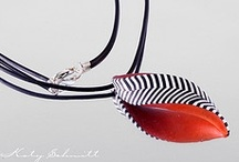*K.  Pendant Polymer Clay / by Gini Paton