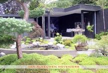 Tuin met overdekt zitgedeelte / Tuin met overdekt zitgedeelte, ontwerp & aanleg door Van Sleeuwen Hoveniers - Veghel  Meer tuinen met overdekte zitgedeeltes treft u op www.vansleeuwenhoveniers.nl.