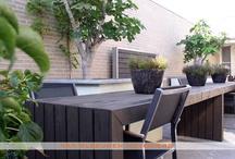 Patiotuin / Patiotuin, ontwerp & aanleg door Van Sleeuwen Hoveniers - Veghel. Meer patiotuinen treft u op www.vansleeuwenhoveniers.nl.