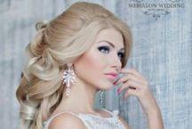 """Wedding Hair / Wedding Hair&make up by Websalon / Свадебные прически и макияж созданные стилистами агентства """"Вебсалон"""""""