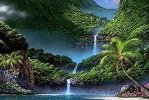heaven كيف اذا هي الجنة ؟ / beauty of the nature
