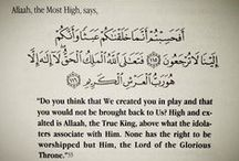 verses from the holy Qura'n  آيات من القرآن الكريم