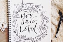 Typography, lettering and quotes / Typography, lettering and quotes - Tipografía, caligrafía y frases
