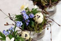 Easter Styling / Pretty Easter decorating ideas and fun crafts to do with your kids this holiday