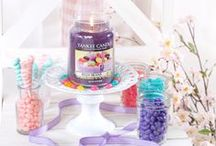 Easter Treats: Yankee Candle / Celebrate sweet treats this Easter without the calories with your Favourite Yankee Candle fragrances, accessories and giftsets!