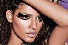 Wild Child / Wild make-up look, tribal inspirations.
