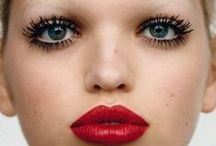 RED / Classic red lips and hundreds shades of it. Modern take on the classic.