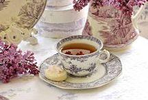 tea cup- teapot