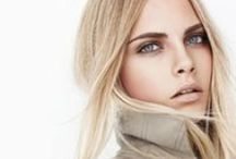 Nudity / Nude make-up looks with shades of beige and brows. Earthy tones, balanced colors.
