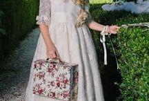 Comunión~vestidos / Una selección de bonitos vestidos para niñas en su primera comunión