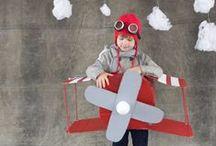 Fiesta Aviones / Inspiración para la fiesta de aviones que hice a mi hijo de 4 años en noviembre de 2013