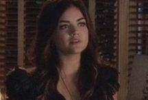 Aria's Style / A board dedicated to Aria Montgommery's (Lucy Hale) finest on screen style moments.
