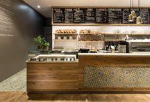 Food & coffee shops / Coffee & deli / by Rodrigo Varela