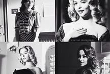 Pretty in Black and White / A board dedicated to the gorgeous cosplay of Pretty Little Liars season four episode of film noir.