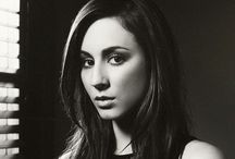 Troian Bellisario / A board dedicated to Troian Bellisario whom portrays Spencer Hastings in #PLL.