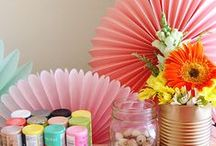 Inspire Lovely - Craft Party / Crafting it up with friends & my beautiful sisters in our Goodbye Summer DIY Craft party
