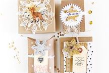 Inspire Lovely - Packaging / Paper + trim + embellishments = XOXO because it matters