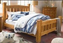 Drift Away SS / From Oak to acacia, from sleigh to slat, nothing makes a bedroom feel more like home than a chunky wooden bed.