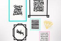 WASHI Tape. Tape-Ideen / Buntes Papierklebeband mit unendlichen Möglichkeiten: Basteln, DIY und Deko sind möglich, neue Bilder entstehen sofort und sind ebenso schnell und rückstandsfrei wieder weg. Verpackung und Geschenke mit Washi schnell verzieren.