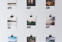 KALENDER. / Kalender, Calender, Printable, druckvorlagen, Office, Planer, Büro, Lettering, Lournaling, BuJo, BULLET Journal