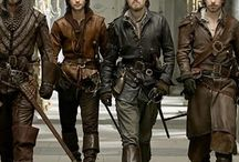 "BBC Musketeers / ""All for one, and one for all!"""