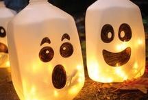 Halloween / Fan de cette fête ! J'adore trouver des idées pour ma traditionnelle soirée d'halloween !