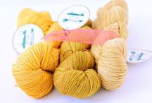 We Love Color / Do you love color? So do we! Our artisan yarns are hand-dyed with care in southern California. Baah Yarns come in a range of  semisolid and subtly variegated color options inspired by nature.  www.baahyarn.com