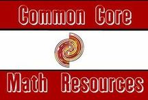 Common Core Math Resources / This board contains printable worksheets, video tutorials, and whiteboard lessons aligned to the Common Core Math Standards for grades Kindergarten through 5th.