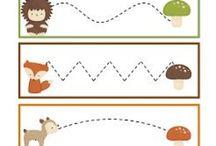Graphisme / Activité de graphisme pour maternelles