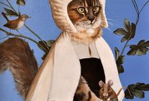 Cat Art. / Cat Art! / by Lisa Pearlman