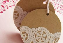 Tags For All Occasions! / Handmade tags and DIY ideas for tags